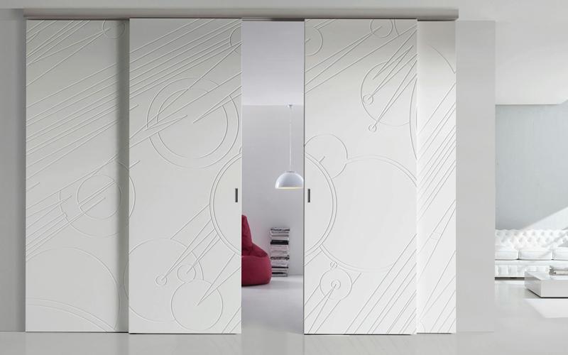 Porte e scale per interni vallo della lucania cilento salerno pronto porte srl for Pareti divisorie mobili per interni
