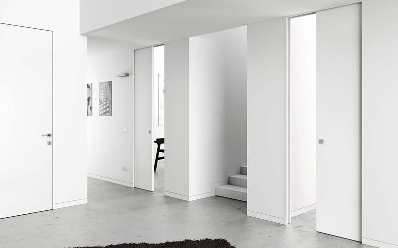 Porte e scale per interni vallo della lucania cilento salerno pronto porte srl - Verniciare finestre alluminio ...