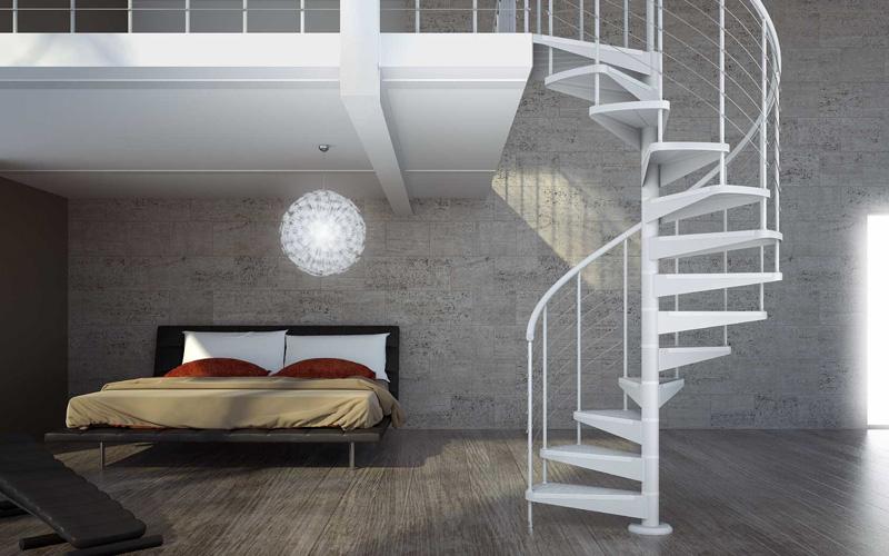 Porte e scale per interni vallo della lucania cilento for Scala a chiocciola della cabina